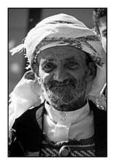 Mann im Jemen  2 sw