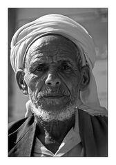 Mann im Jemen 3 sw