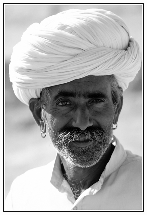 Mann in Rajasthan