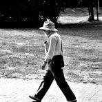 Mann mit Hut.....