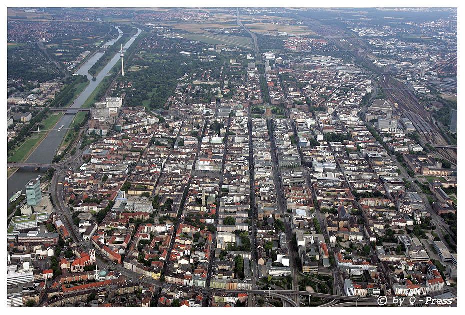 Mannheim aus der Luft