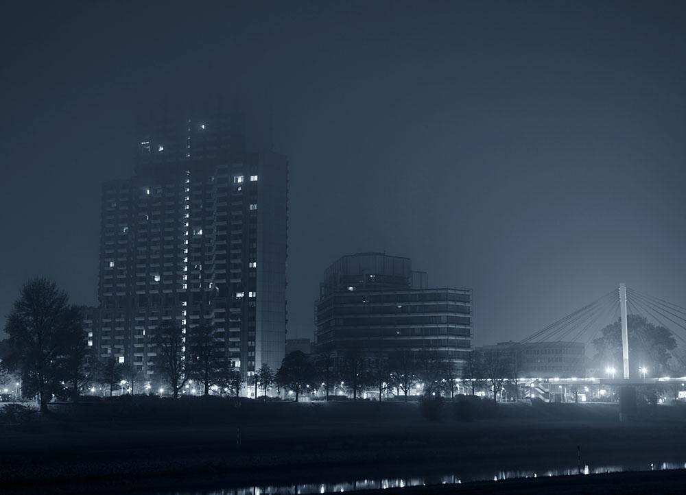 Mannheim im Nebel
