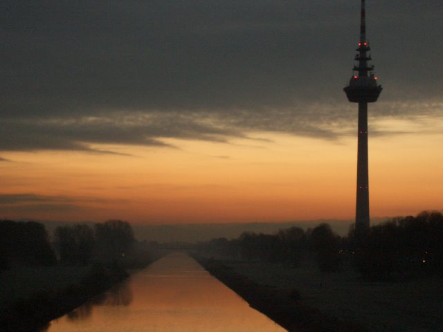 Mannheimer Sonnenaufgang