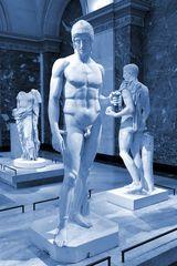 Mannsbilder im Louvre