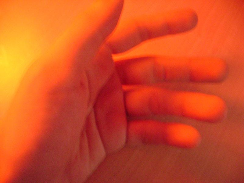mano e luce
