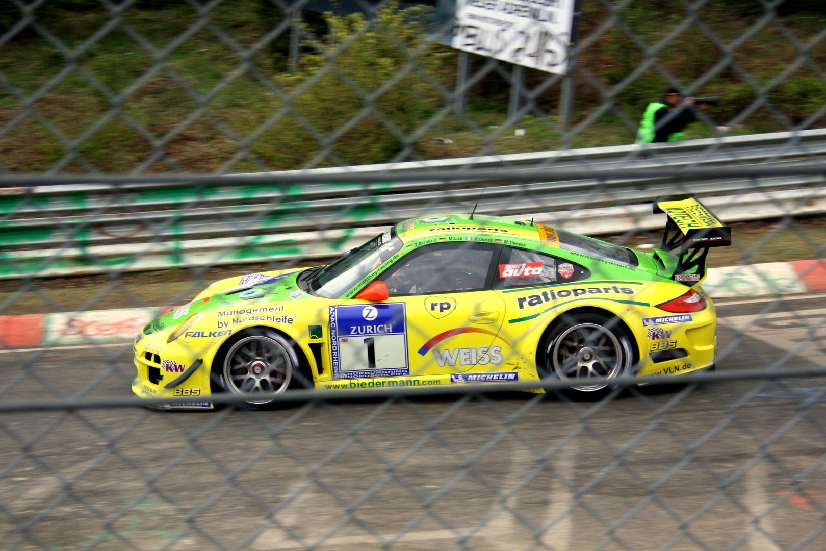 Manthey Porsche GT3 R / 24h Rennen 2010