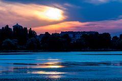 Mantova 2009 - scorcio al tramonto