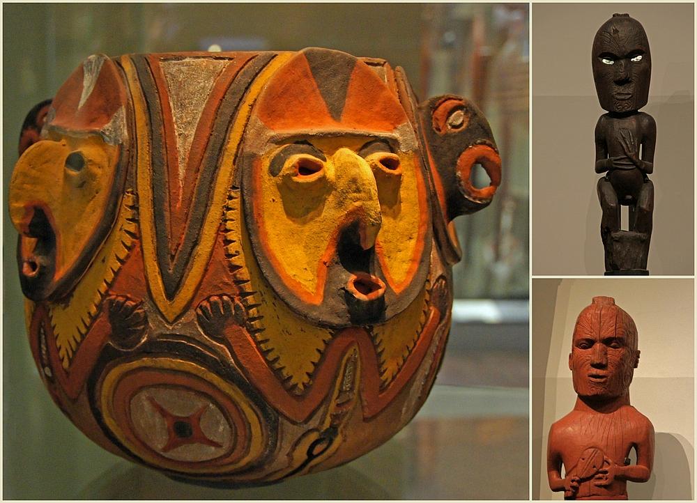 ..Maori Kunstwerke..