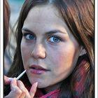 Maquillaje de Laura (modelo improvisada) GKM5-III