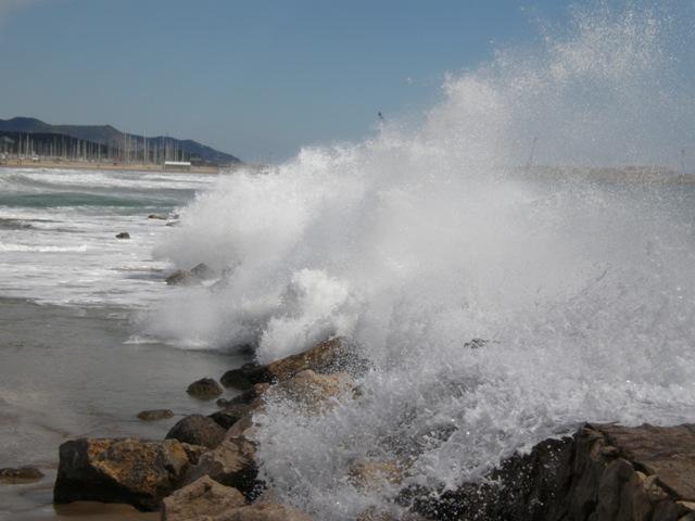 Mar enfurecido