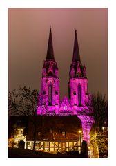 Marburg b(u)y Night Elisabethkirche
