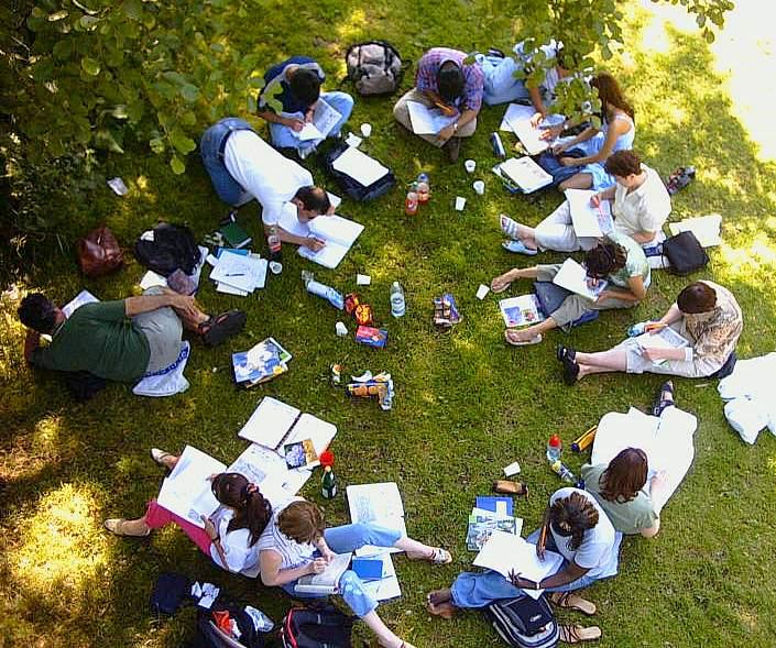 Marburger Studies am Lahnufer