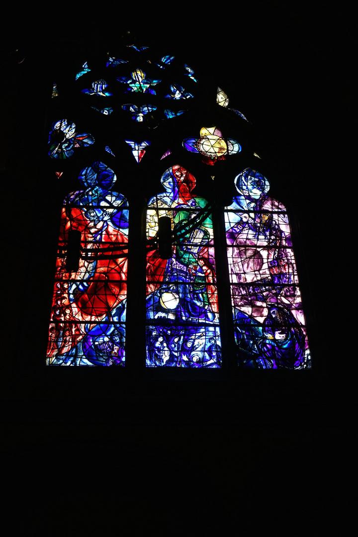 Marc Chagall Fenster Cathédrale St-Ètienne