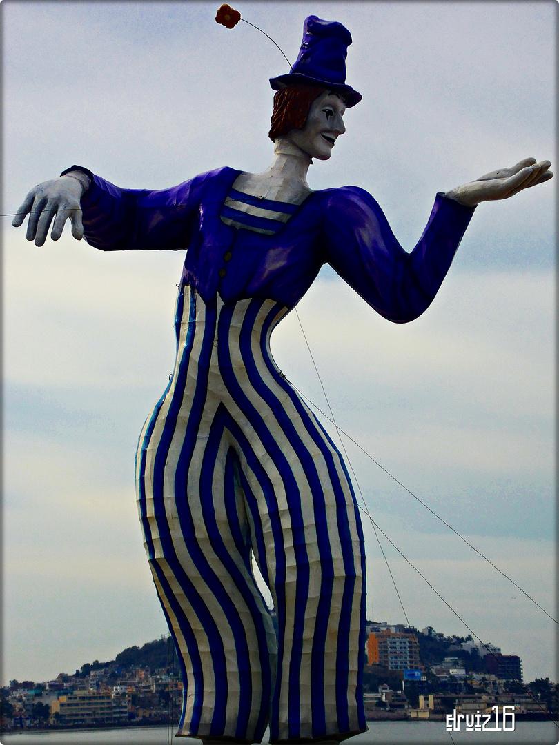 Marcel Marceau... Un 'Don Juan´ (1964) en el Carnaval de Mazatlán, 2013.