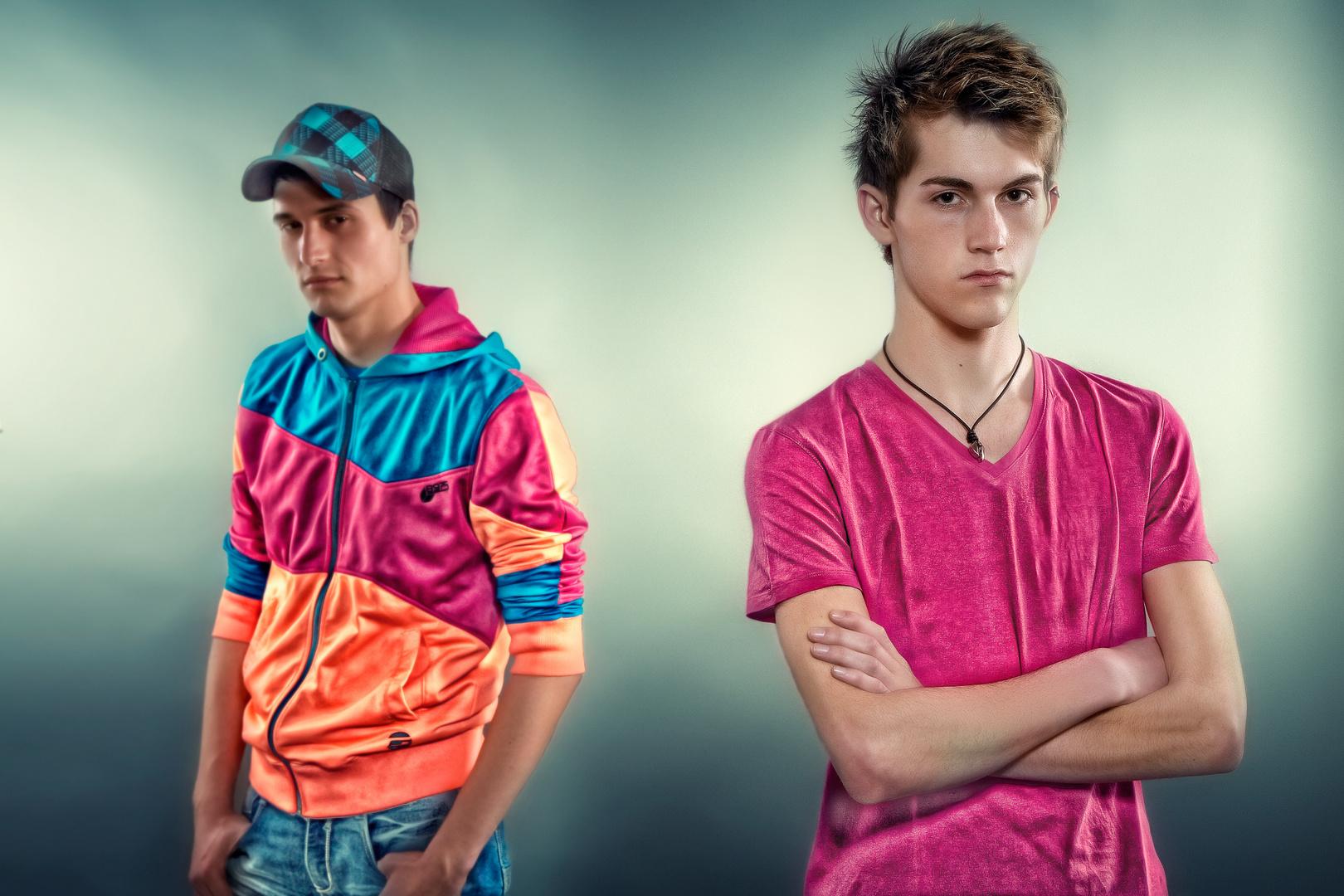 Marcel und Jannik