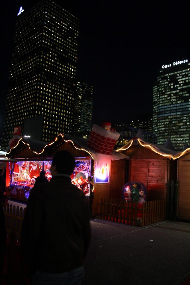 Marché de Noël, La Défense.
