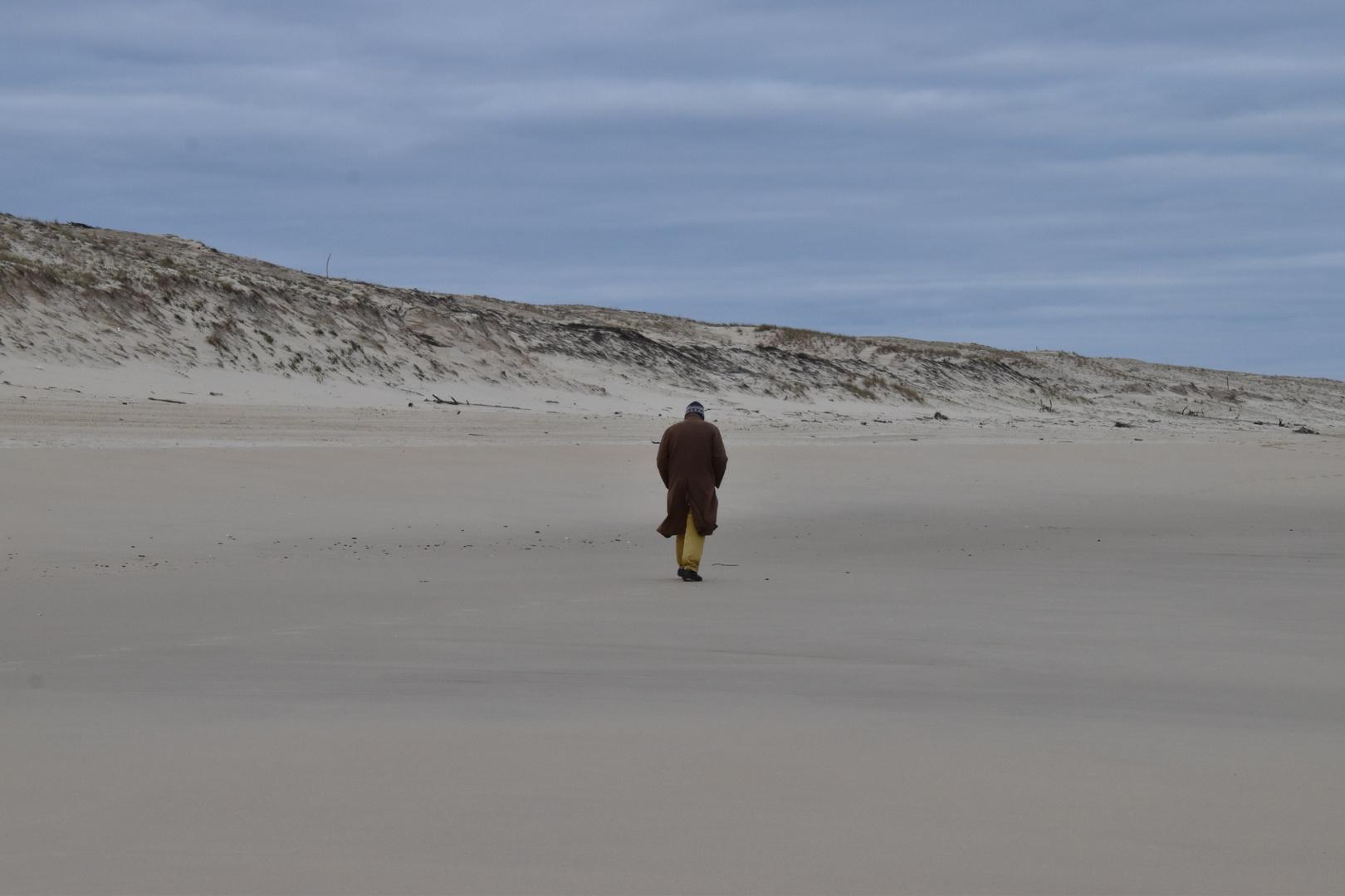 Marcheur solitaire