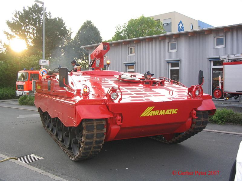 Marder Feuerwehr Panzer
