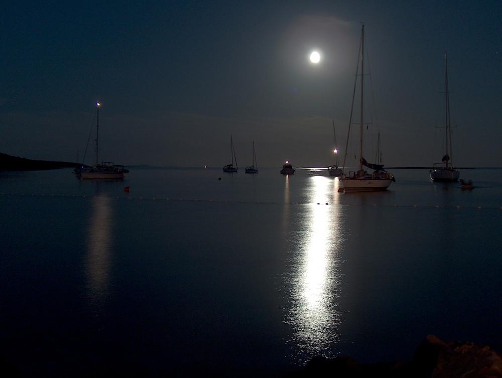 Mare Di Notte Foto Immagini Paesaggi Mare Cielo Foto Su