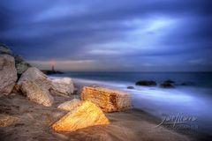 Mare, rocce, cielo...