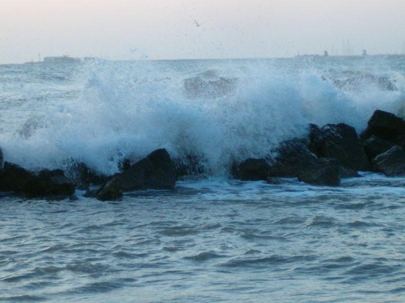 marea all'alba