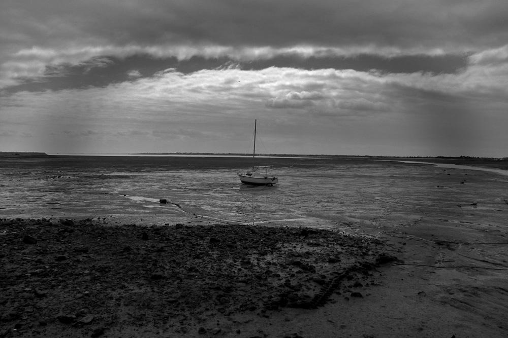 Marée basse à l'île de Ré