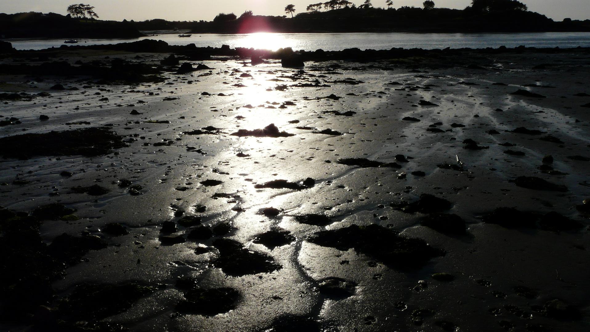 Marée-basse, le Kerpont, Ile de Bréhat