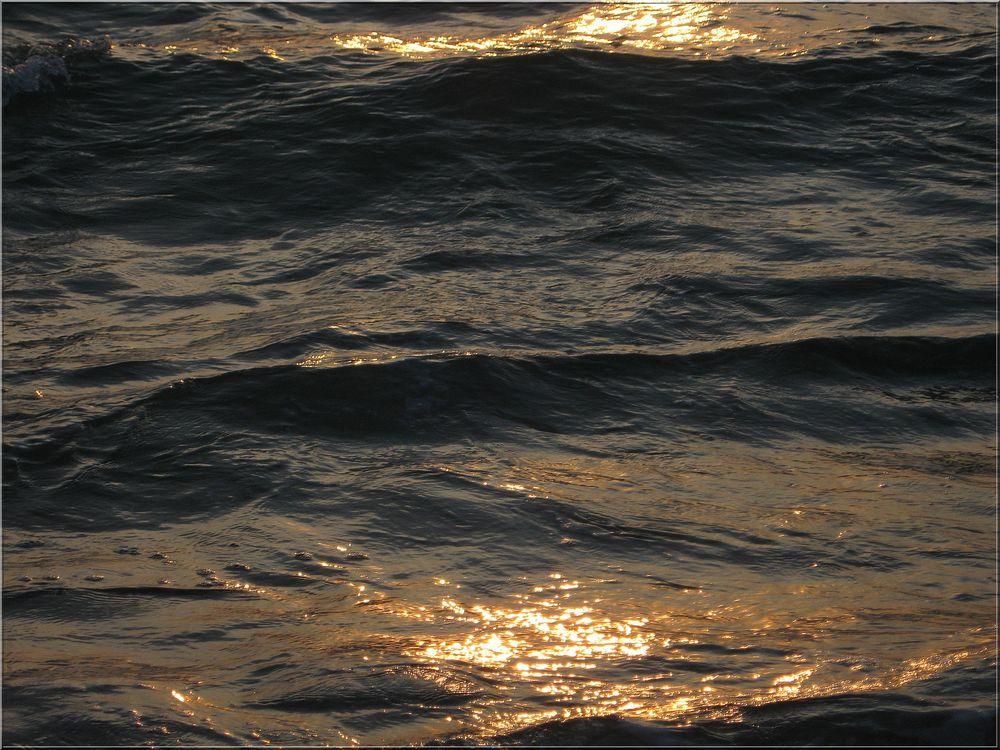 ..Marée haute, au couchant..