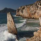 Mareggiata a Buggerru - Sud ovest Sardegna