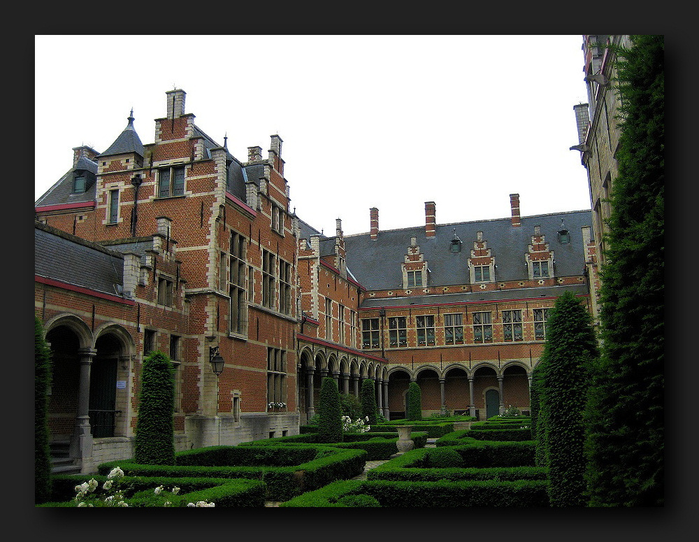 Margaret of Austrias Palace at Mechelen