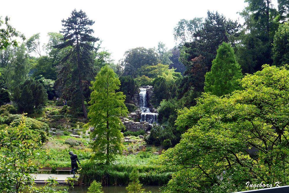 Margarethensee und Übergang zum Botanische Garten