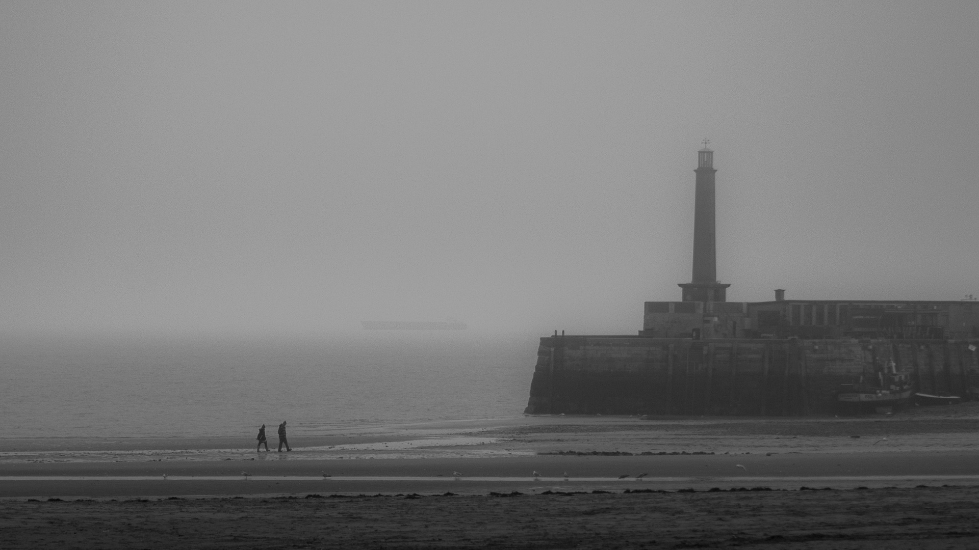 Margate Beach in the Mist
