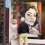 Maria Callas, Primadonna Assoluta, in Heidelberg, von Maler Christian Moll, 2013  -