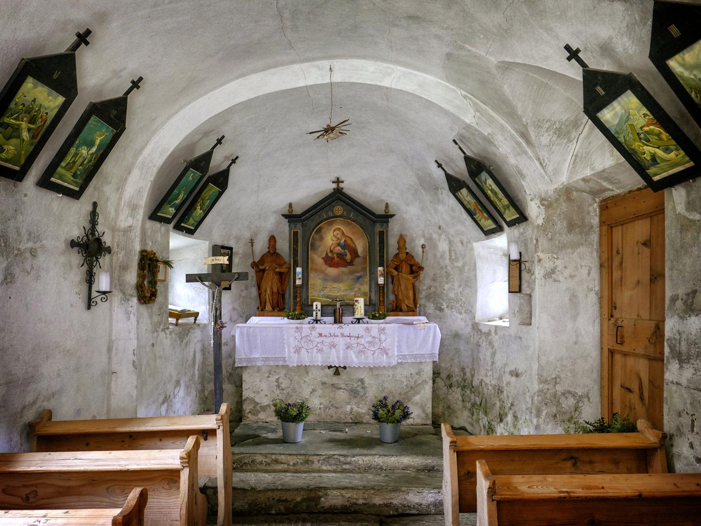 Maria-Hilf-Kapelle auf der Jagdhausalm