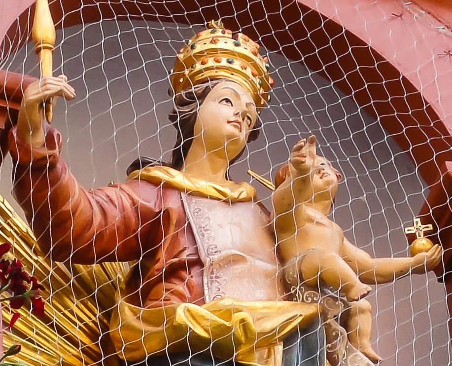 Maria hinter Gittern - Dinkelsbühl