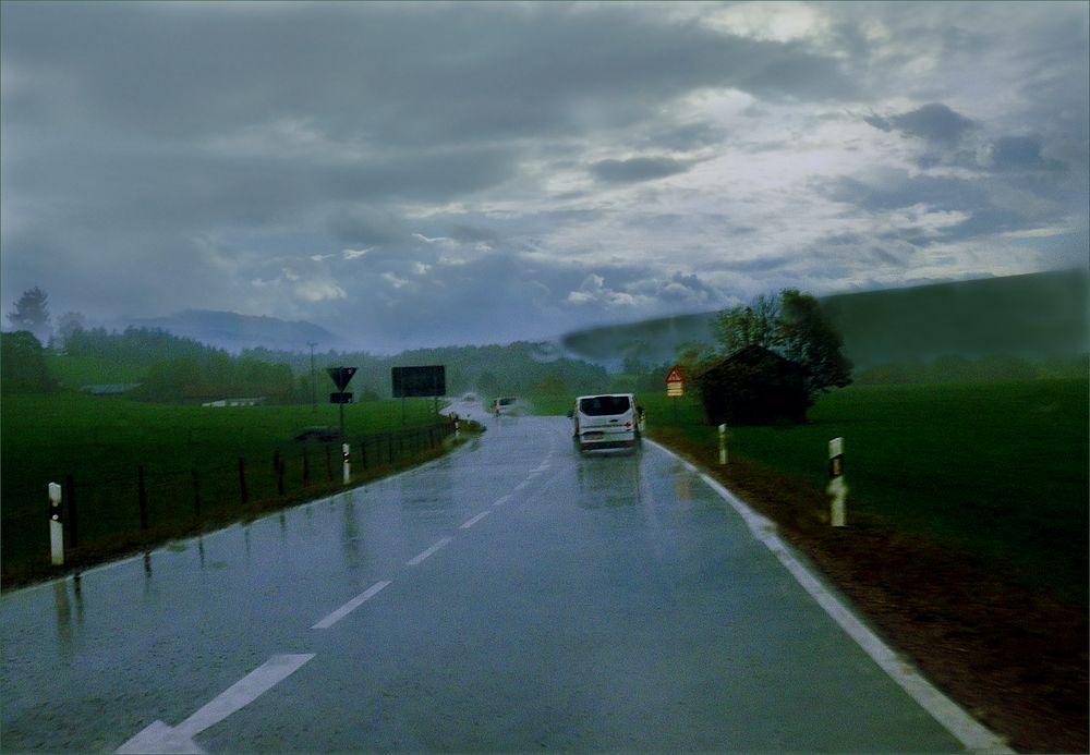 Maria Rain Allgäu  ....es regnet