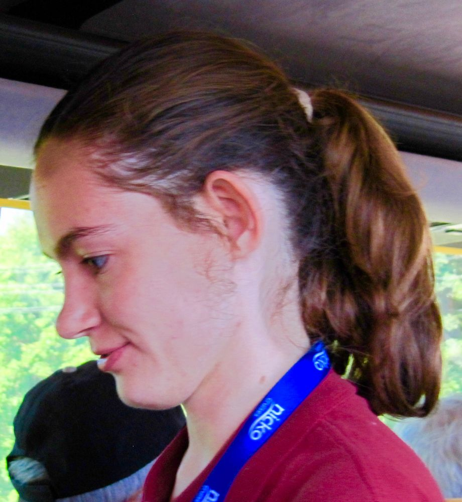 Maria, unsere nette russische Reiseleiterin