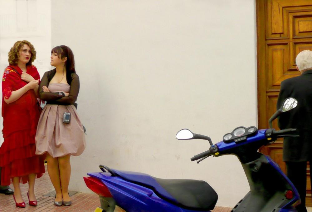Mariage côté cour