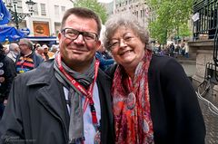 Marianne Kock mit Boris Neisser