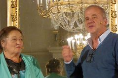 Marianne Sägebrecht und Hubertus Meyer Burghardt