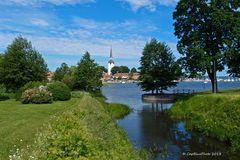 Mariefred in Södermanlands län