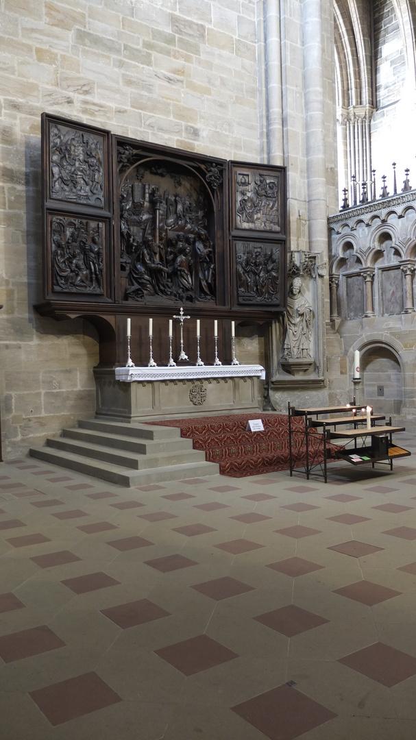 Marienaltar von Veit Stoß im Bamberger Dom