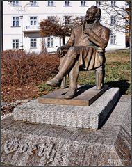 Marienbad (Marianske Lazne), Goethe Statue