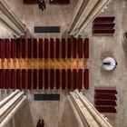 Marienkirche - Blick aus dem Gewölbe