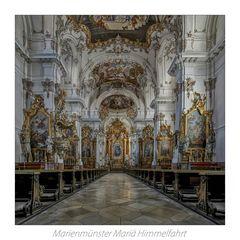 """Marienmünster Maria Himmelfahrt ( Dießen ) """"  Gott zu Gefallen... """""""