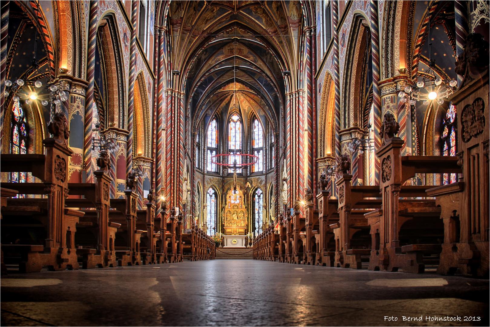 Marienwallfahrtskirche in Kevelaer ....