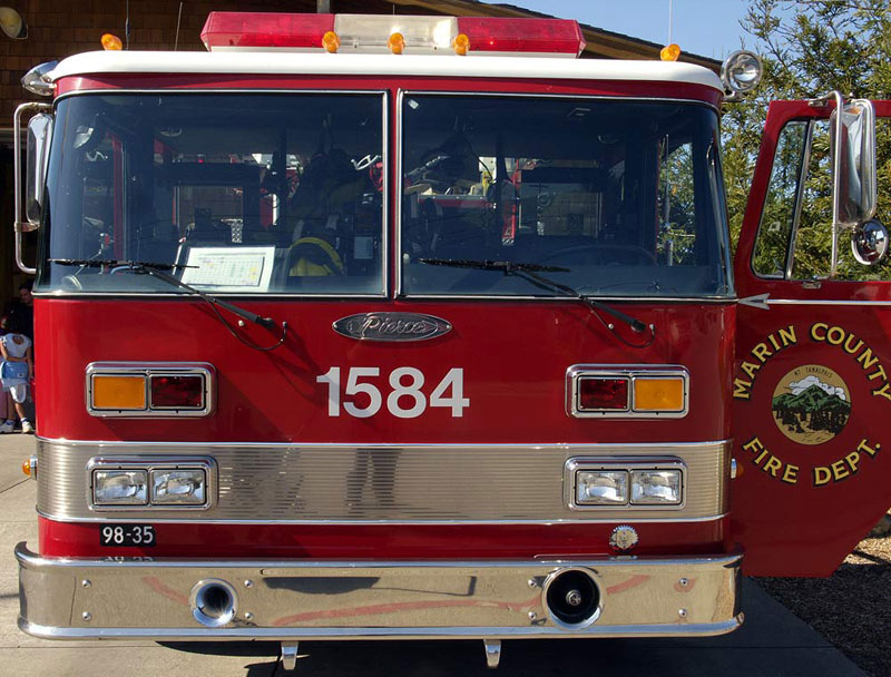 Marin County Fire Engine