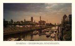 Marina- Duisburg Innenhafen