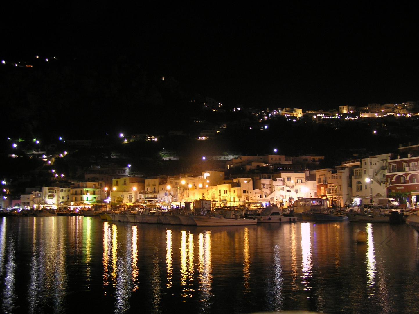 """Marina Grande"" Capri bei Nacht"