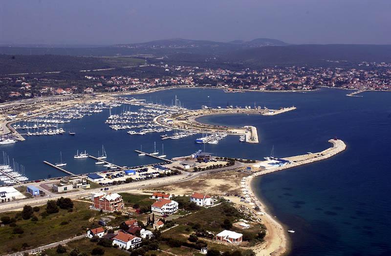 Marina in Sukasan bei Zadar